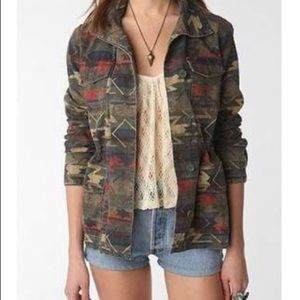 Ecoté Urban Outfitters Tribal Military Jacket